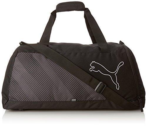 PUMA borsa sportiva Echo Sports Bag, PUMA Black, 22,3 x 11,6 x 27 cm, 36 litri, 074108 01
