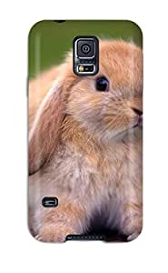 Galaxy Cover Case - Cute Rabbits Protective Case Compatibel With Galaxy S5