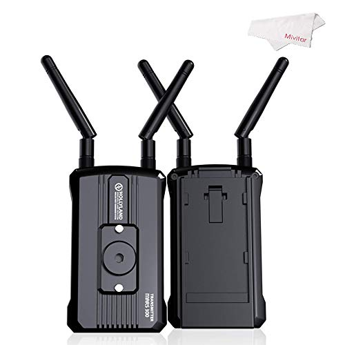 Hollyland Mars300 300 Feet 5G Transmission Wireless HD Video Transmission System Professional Video Transmitter and Receiver HDMI 1080 Broadcast for DSLR and Mirrorless Camera