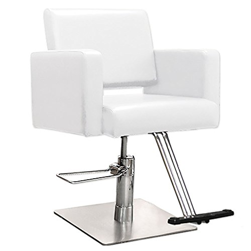 White professional hair salon equipment havana styling 2 for Professional beauty salon equipment