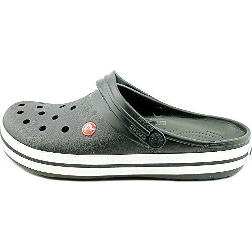 Crocs Crocband Clog, Zuecos con Correa, Unisex Black