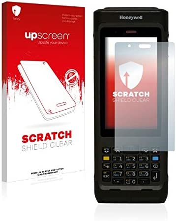 upscreen Strong Scratch Protection Scratch Shield Clear Screen Protector for Honeywell Dolphin CN80 N6603ER High Transparency Multitouch Optimized