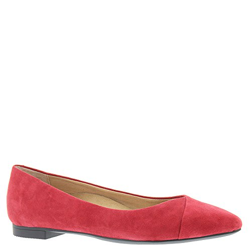 Vionic Women's Caballo Flat Red 9 W by Vionic