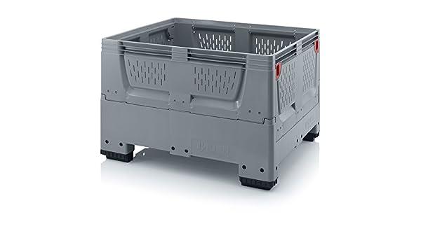 Bigbox - Caja plegable (1200 x 1000 x 790 mm, con 4 patas y rejillas de ventilación): Amazon.es: Industria, empresas y ciencia