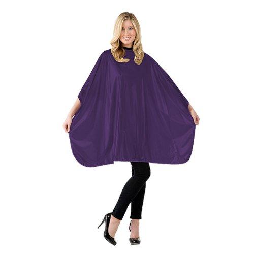 Hair Stylist Shampoo Cape 36x54 Purple Velcro by Betty Dain #306