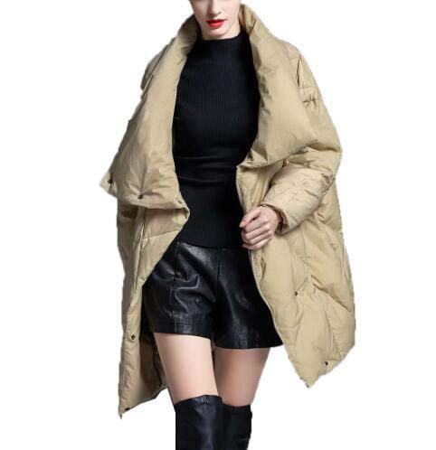 Di Moda Naturale Nuova Inverno Lungo Allentato Sci Capispalla Donna Huaishu Robusta Cappotto Da Piumino 0O8zS