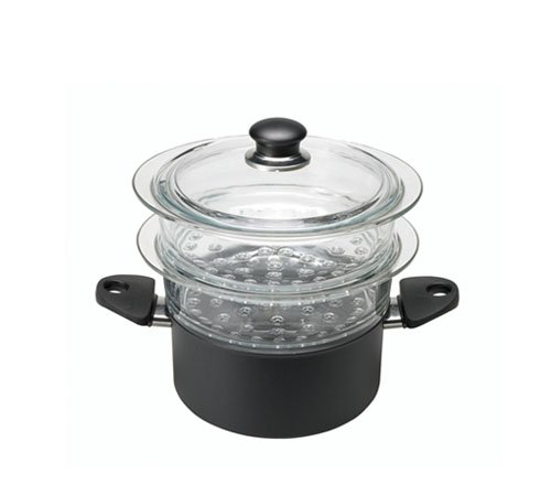 Gli Speciali 6-7 qt. Steamer Set with Lid by BALLARINI