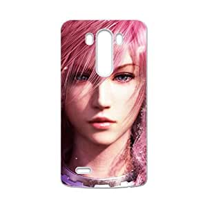 Happy Final fantasy Pink girl Cell Phone Case for LG G3