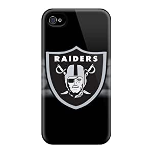 iphone covers Anti-Scratch Cell-phone Hard Cover For Iphone 5c (xTV4459wIQH) Allow Personal Design Colorful Oakland Raiders Series