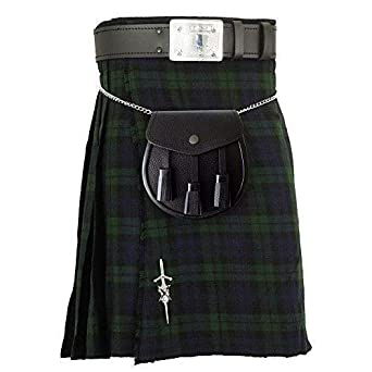 Chrome /& Black Finish//Scottish Kilt Belt Buckle 4 Dome Mirror Design Antique