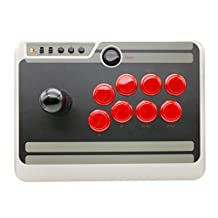 YIKESHU 8Bitdo N30 Arcade Stick Wireless Bluetooth for Nintendo Switch, PC, Mac & Android (N30 Arcade Stick)