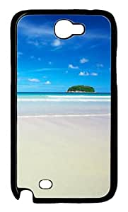 Lone Island Polycarbonate Hard Case Cover for Samsung Galaxy Note 2/ Note II/ N7100 Black