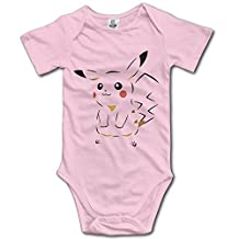 Unisex Pokemon GO Cool Pikachu Sketch Baby Onesie Bodysuit