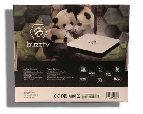 BuzzTV XPL 3000 Basic | Panda Box | Android OTT Set Top HD 4K TV Box by BuzzTV (Image #1)