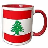 3dRose mug%5F158355%5F5 Flag of Lebanon%