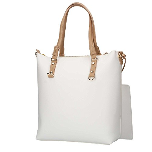 TU 75B00375 Bianco Shopping Donna JEANS TRUSSARDI wqS66z