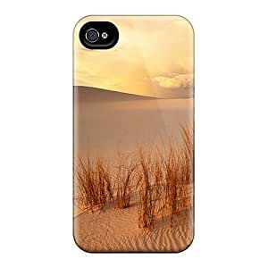 Fashion Tpu Case For Iphone 4/4s- Desert Shine Defender Case Cover