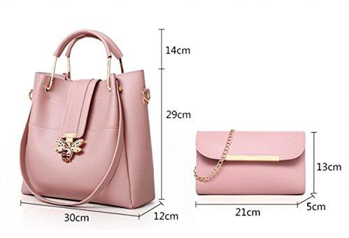bouchon mode d'oreille classique femmes Gros alliage accessoires de Pink rue Croix fabriqués grand cercle géométrique tendance avec wBYx0qT7