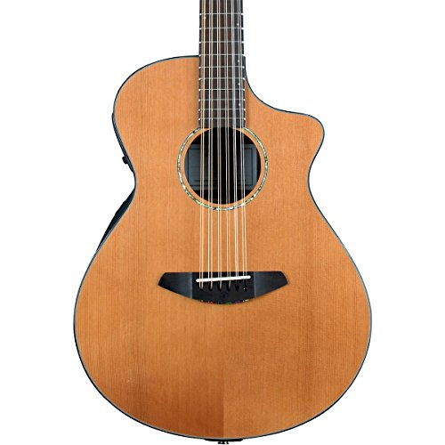 Breedlove Solo Concert 12-String Acoustic-Electric Guitar Natural (Breedlove 12 String)