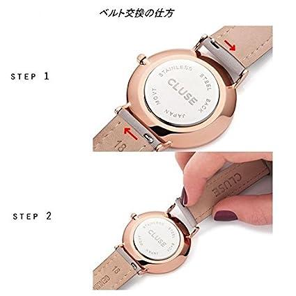 aaafd5b536300e cluse Femme Cl18208 Noir Sangle la montre à quartz BOHEME Cl18208   Amazon.fr  Montres