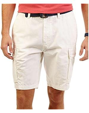 Atla Mini Ripstop Cargo Shorts 9.5 Beige 32