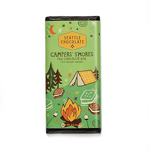 - Seattle Chocolates - Campers' Smores Truffle Bar - 2.5oz