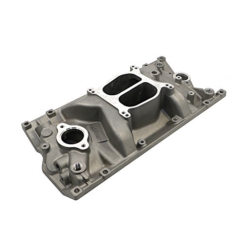 Assault Racing Products PC2007 Small Block Chevy Dual Plane Vortec Satin Aluminum Intake Idle-5500 RPM SBC