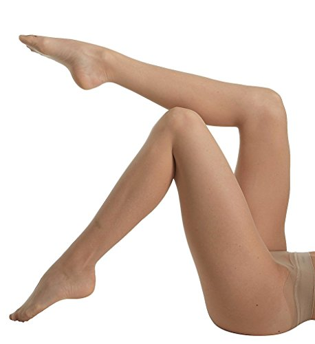 CK Women's Seamless Sheer Pantyhose, Buff, Size A
