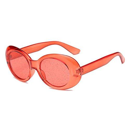 Ovales De Retro Moda Unisex Sol Gafas De De Brillantes Calle De Brillantes Lentes Estilo C2 Gafas UV400 Diseño La Cristal Persianas De Nuevas Completa Clásica Protección De W1P6XZXq