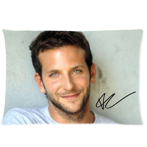 Custom Rectangle Pillowcase Pop Star Bradley Cooper Standard Size 20 By 30 Inch Bpcaese 206