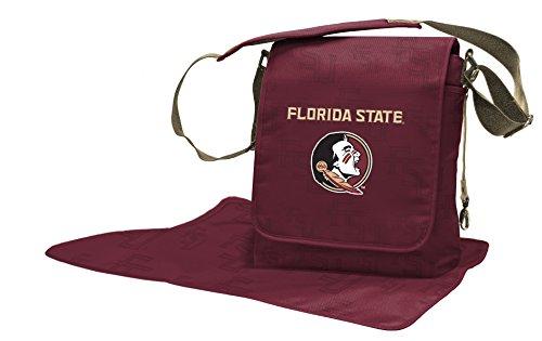 Lil Fan Diaper Messenger Bag, NCAA College Florida State Seminoles ()
