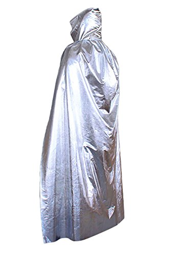 [Novia's Choice Full Length Death Devil Vampire Demon Costume Cape Hooded Halloween Party Cloak] (Hot Halloween Costumes Devil)