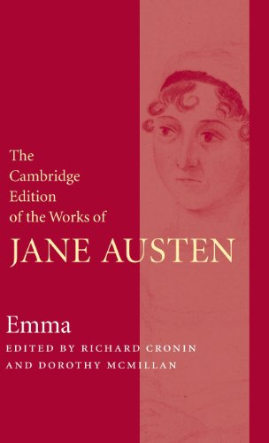 Emma (The Cambridge Edition of the Works of Jane Austen) by Jane Austen