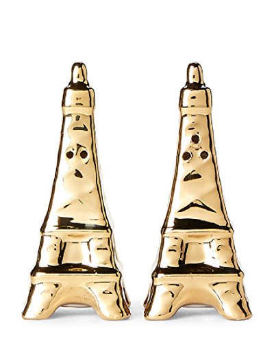 - Eiffel Tower Salt and Pepper Shaker by Hazel and Co.