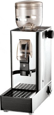 Lux Coffee Grinder in Chrome and Black - Pasquini by Pasquini