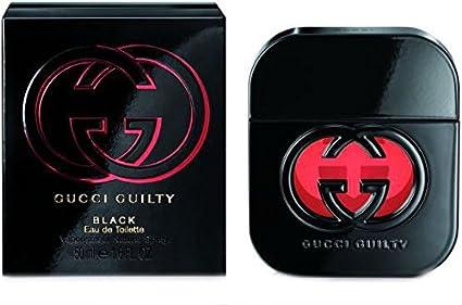GUCCI GUILTY blanco y negro 50 ml Colonia DE imitación TOILETTE DE aerosol DE la y