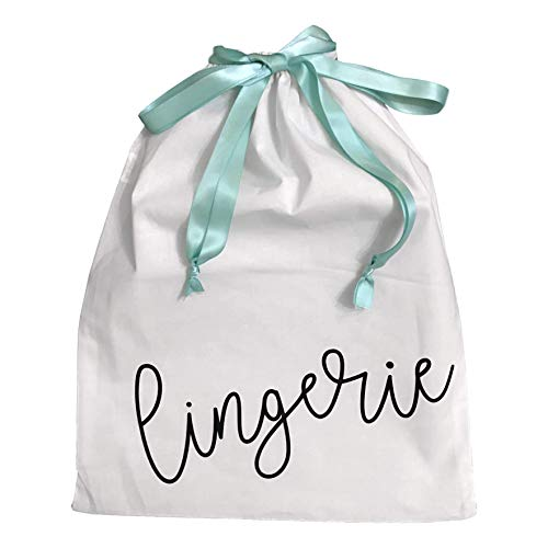 Lingerie Travel Bag with Drawstring