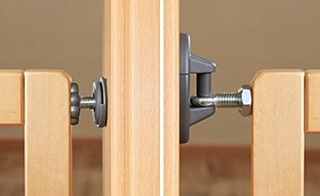 Reer Tür und Treppenschutz Klemm und Schraubgitter Basic Active-Lock Holz 46221
