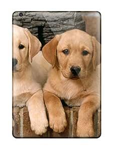 Hot 9731101K70111391 Shock-dirt Proof Labrador Retriever Puppies Case Cover For Ipad Air