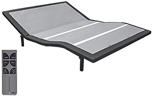 Leggett Platt Adjustables Raven Adjustable Bed Base, Wireless, Head and Foot Articulation, Full