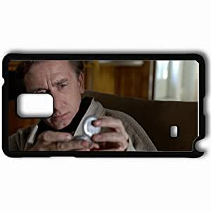 Personalized Samsung Note 4 Cell phone Case/Cover Skin Andre Hennicke Man Care Face Hands Black WANGJING JINDA