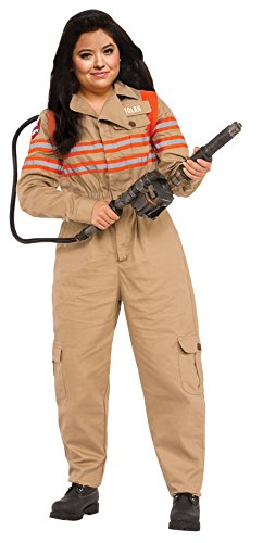 UHC Women's Grand Heritage Ghostbusters Outfit Fancy Dress Plus Size Costume, Plus (16-22)