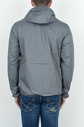 K-WAY REVERSIBLE JACKET GRAU GELBE, Herren.