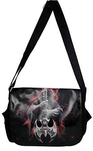 NEW ANNE STOKES FANTASY DRAGON MEDIEVAL ART, ROCK GOD MESSENGER BAG, 99506 BY ACK
