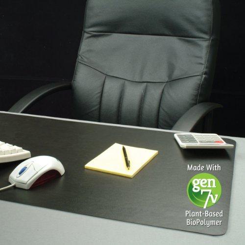 ES Robbins 120748 Natural Origins Desk Pad, 24 x 19, Matte, Black (ESR120748)