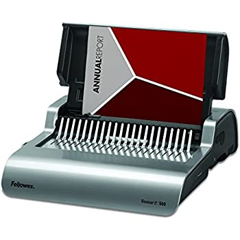 fellowes pulsar 300 binding machine instructions