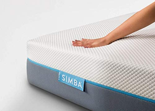 Simba Hybrid Essential Mattress | UK King 150 x 200 | 20 cm High | Foams + Aerocoil spring | Which? Best Buy 2020 Mattress