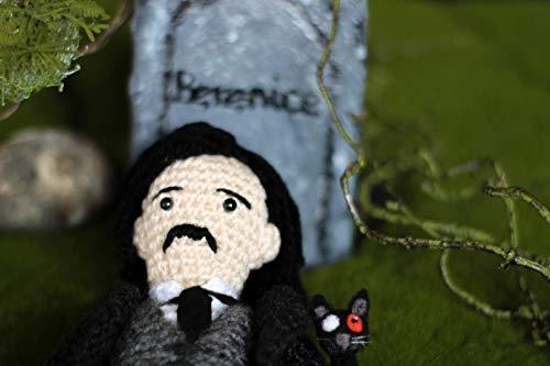 Lovecraft /& Edgar Allan Poe wooldoll