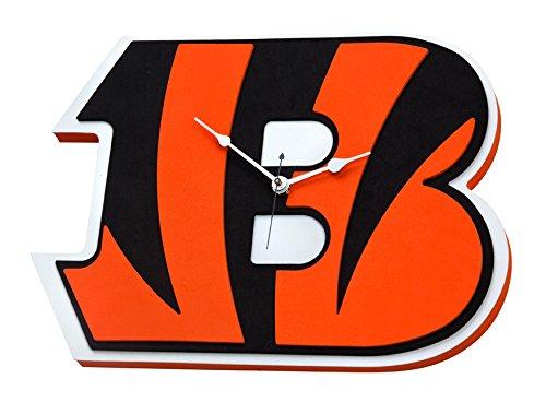 NFL Cincinnati Bengals 3D Foam Wall Clock