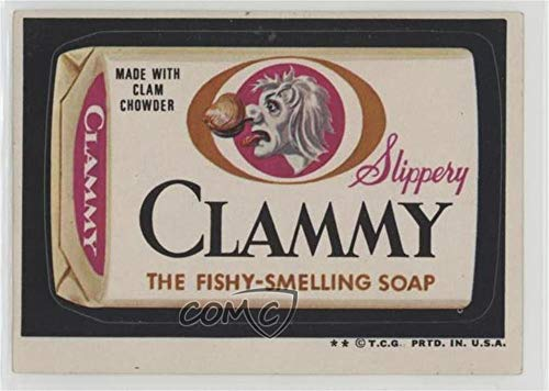 Clammy (Trading Card) 1974 Topps Wacky Packages Series 6 - [Base] #CLAM ()